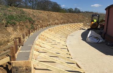 Ibbco Civil Engineering Ltd, Retaining Wall