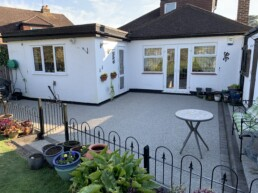 Resin Patio- Ibbco Civil Engineering Ltd