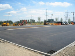 Tarmac Carpark Ibbco Civil Engineering Ltd
