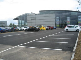 Tarmac Carpark Line Marking- Ibbco Civil Engineering Ltd