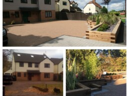 Resin Before and After Driveway- Ibbco Civil Engineering Ltd