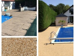 Resin Patio and Swimming Pool Surrounds- Ibbco Civil Engineering Ltd