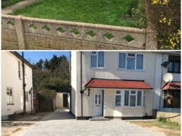 Driveway Before and After- Ibbco Civil Engineering Ltd
