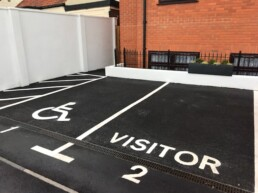 Line Marking Car Park- Ibbco Civil Engineering Ltd