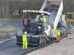 Tarmac Roller Ibbco Civil Engineering Ltd