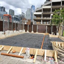 Boatman's House Concrete Preparation- Ibbco Civil Engineering Ltd