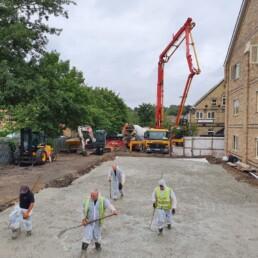 Weston House Concrete Walking- Ibbco Civil Engineering Ltd