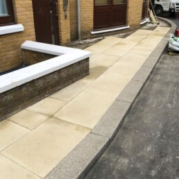 City Quay Slab Pathway- Ibbco Civil Engineering Ltd