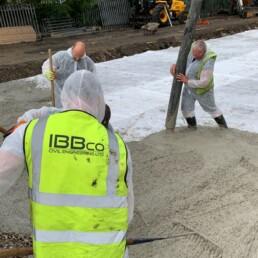 Weston House Concrete Pour- Ibbco Civil Engineering Ltd