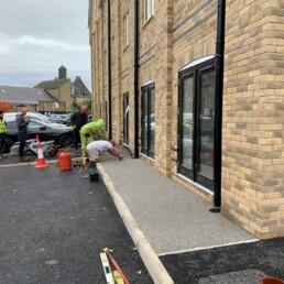 Weston House Resin Bound Path- Ibbco Civil Engineering Ltd