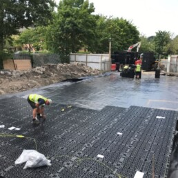 Weston House Drainage Crates- Ibbco Civil Engineering Ltd