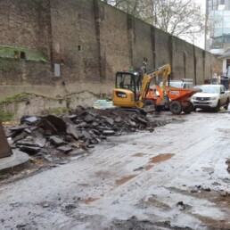 City Quay Tarmac Carpark Excavating- Ibbco Civil Engineering Ltd