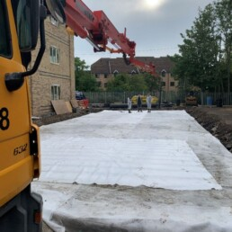 Weston House Lorry Arm Extension- Ibbco Civil Engineering Ltd