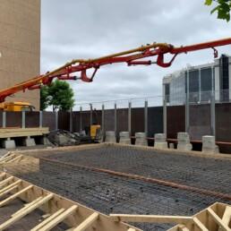 Boatman's House Concrete Pour- Ibbco Civil Engineering Ltd