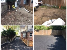 Tarmac Before and After- Ibbco Civil Engineering Ltd